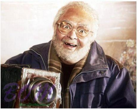 The first look of Rishi Kapoor as a 80 yr grandfather in Sanam Re movie