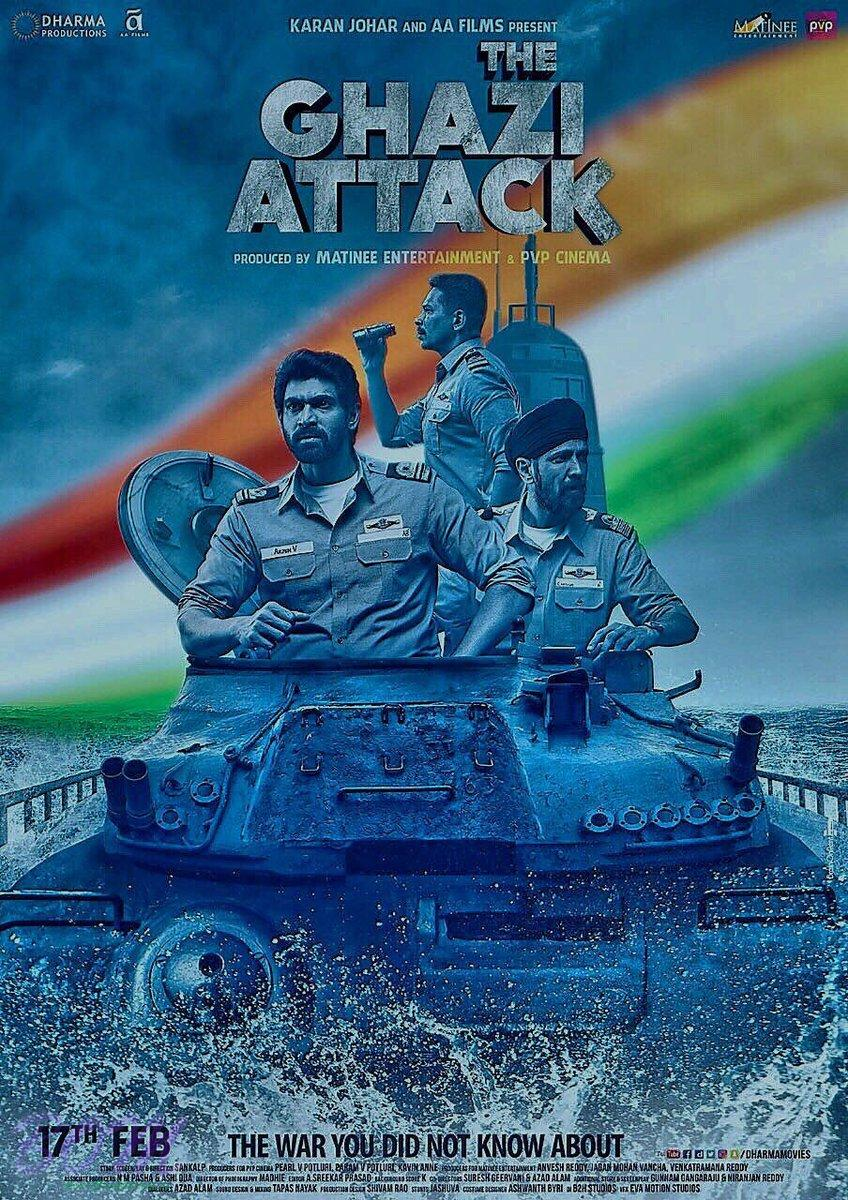 The Ghazi Attack movie new poster
