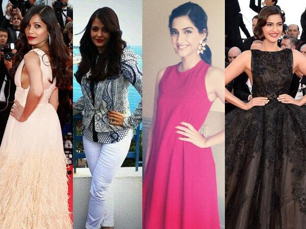 This is how Aishwarya Rai Bachchan, Sonam Kapoor and Freida Pinto dazzle at the Cannes Film Festival  2014