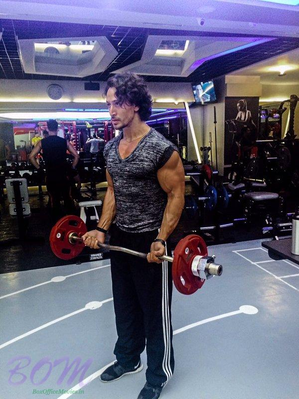 Tiger Shroff ‏charging his powers to back into superhero form