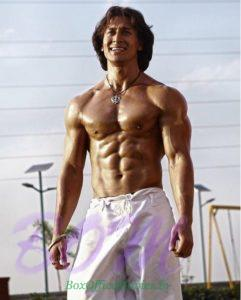 Tiger Shroff 8 pack abs