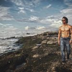 Pics of Tiger Shroff flaunting his chiselled body