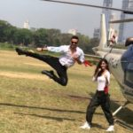 Tiger Shroff and Disha Patni flying high for Baaghi 2