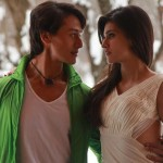 Tiger Shroff and Kriti Sanon Romantic Picture from Heropanti