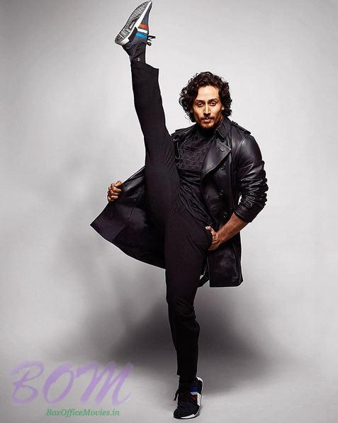 Tiger Shroff kicking high