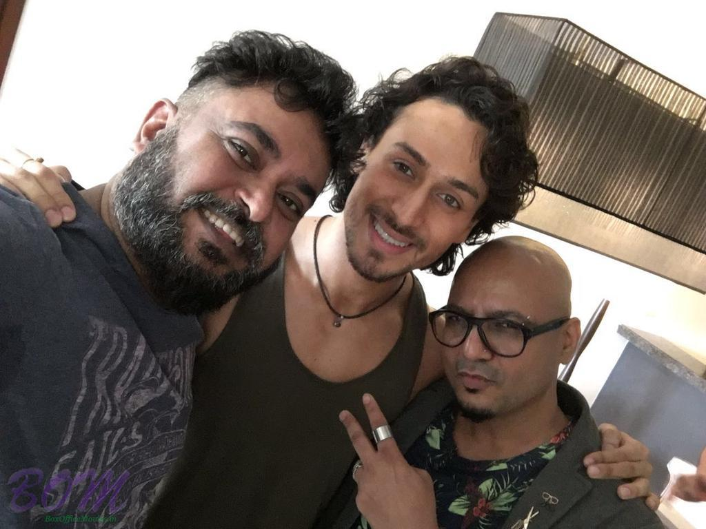 Tiger Shroff with Munna Singh and Aalim Hakim for CineBlitz Magazine sep issue