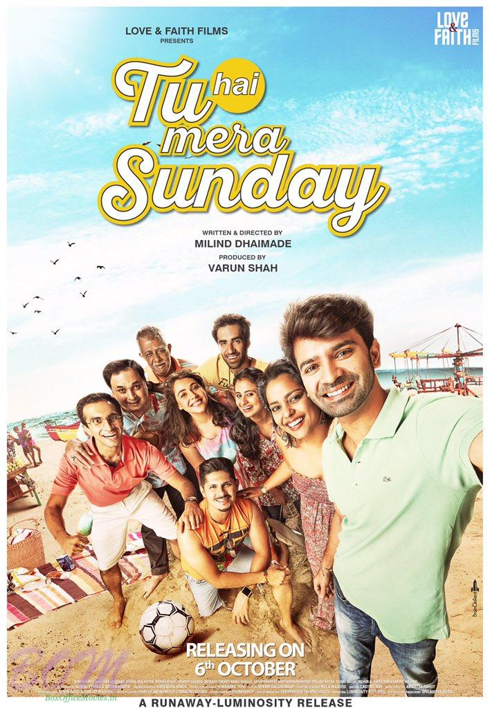 Tu Hai Mera Sunday movie poster with release date