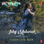 Arijit Singh spread new magic with ISHQ MUBARAK song from Tum Bin 2