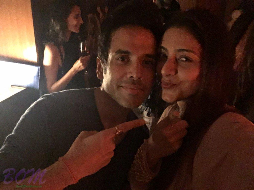 Tusshar Kapoor selfie with Tabu in a party by Karan Johar