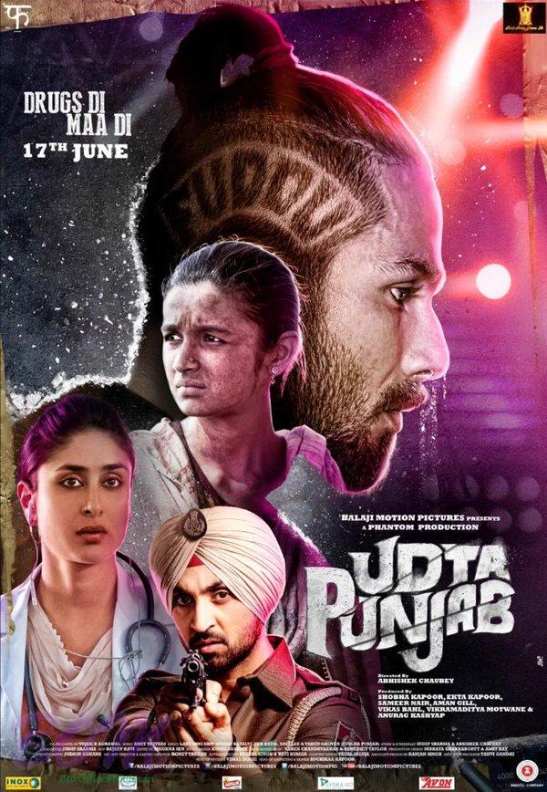 udta punjab movie poster pics bollywood actor movie