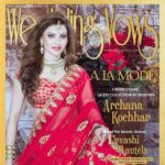 A gorgeous picture of Urvashi Rautela as cover girl for Wedding Wows August 2016 issue