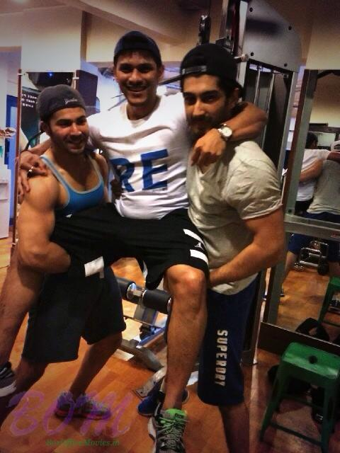 Varun Dhawan Early morning madness with Prashant