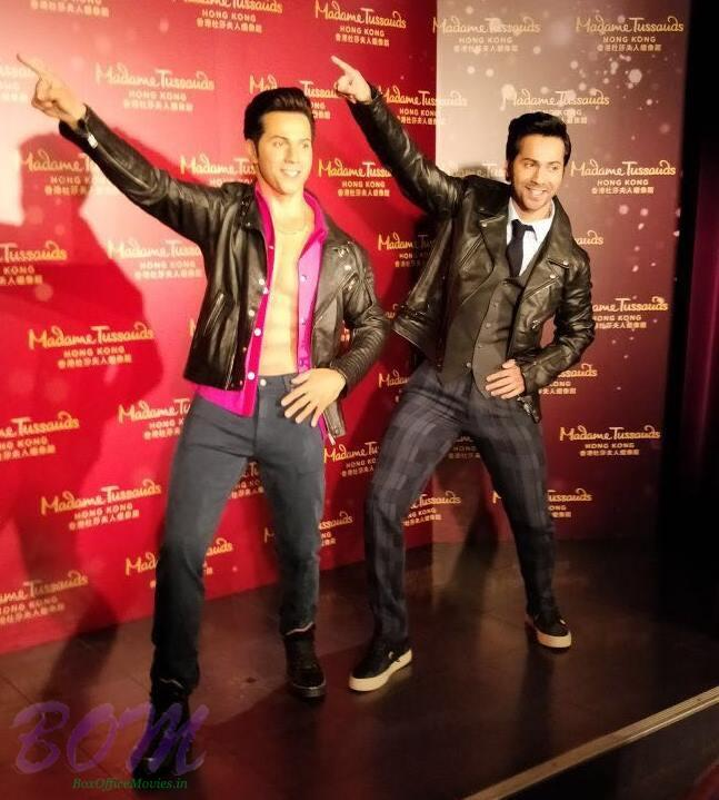 Varun Dhawan becomes the youngest actor to enter in Madame Tussauds Hong Kong