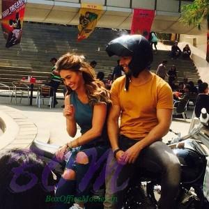 Varun Dhawan enjoying time with Lauren Gottlieb on the sets of ABCD2