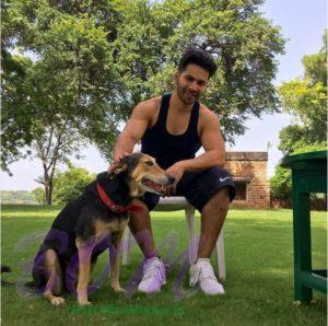 Varun Dhawan express his love for workout with this picture