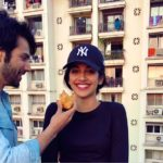 Varun Dhawan funny moment with Banita Sandhu when shooting for October