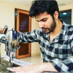 Varun Dhawan in a scene of Sui Dhaga when started shooting