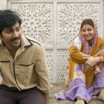 Varun Dhawan moustache look and Anushka Sharma Saree look in Sui Dhaaga