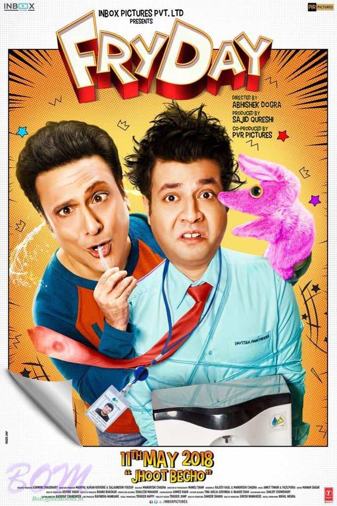 Varun Sharma and Govinda starrer FRYDAY movie poster