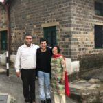 Varun Sharma with his parents