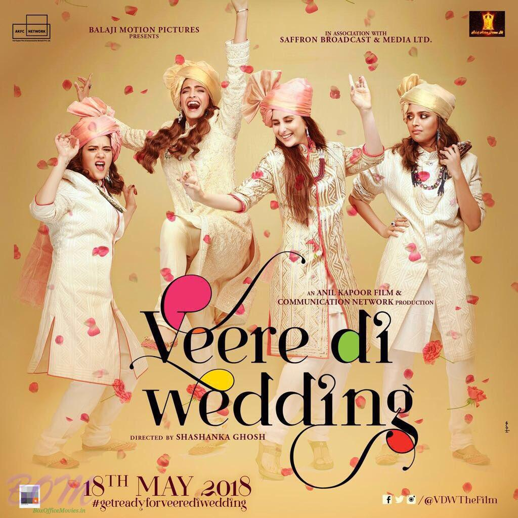 Veere Di Wedding movie first look poster