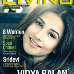 Vidya Balan cover girl for Culturama Living Magazine March 2018 edition