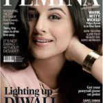 Watch this awesome photoshoot of Vidya Balan as Cover Girl for Femina Oct 2016 issue