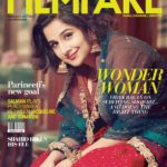 Vidya Balan cover girl for Filmfare magazine Nov 2017 issue