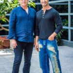 Vidyut Jammwal with Junglee movie director Chuck Russell