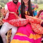 Virat Kohli and Anushka Sharma Mehndi for marriage