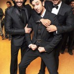 Weird Ranbir Kapoor with Ranveer Singh and Arjun Kapoor