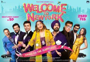 Welcome to New York is India's first comedy in 3D which is going to bring the madness on 23rd Feb 2018