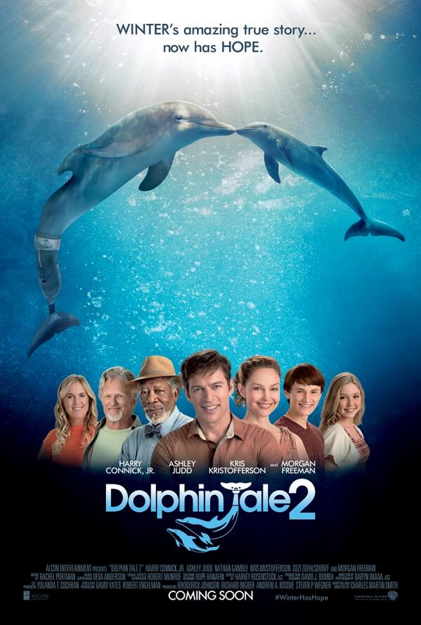 What do you think of this Exclusive new poster from Dolphin Tale 2. In Cinemas this September in 3D.