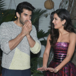 Katrina Kaif and Aditya Roy Kapur at Fitoor Delhi press conference