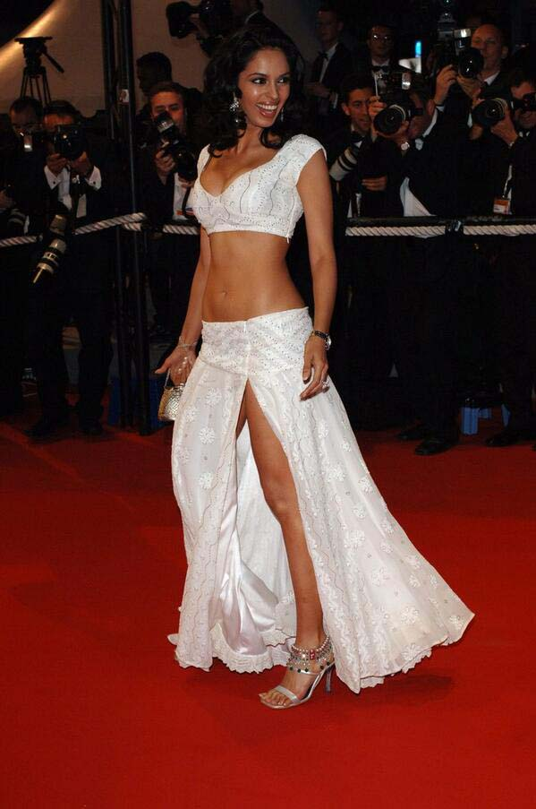 When the world first saw the real sexy women from India. Mallika Sherawat while promoted Myth in 2005.