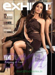 Yami Gautam cover girl for Exhibit Magazine March 2018 edition