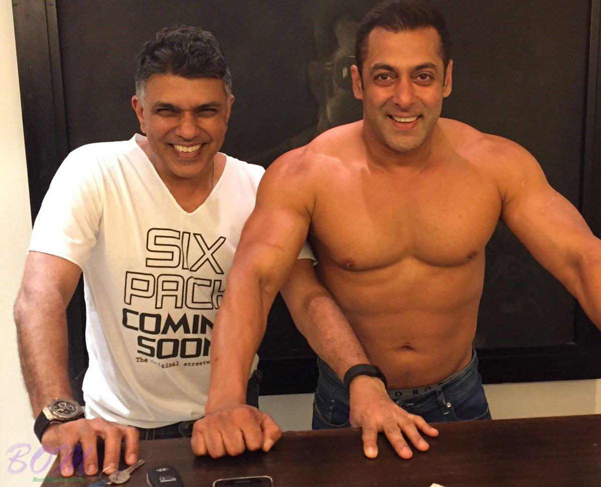 You will love this shirtless picture of Salman Khan