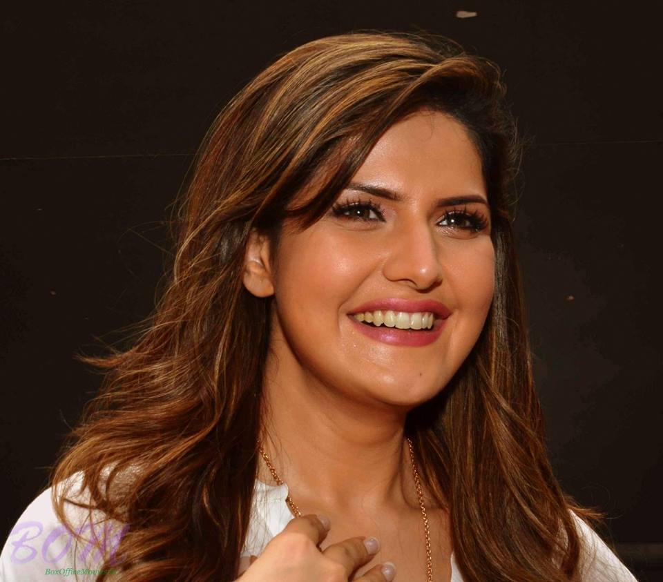 Zareen Khan - On the sets of Hate Story 3...