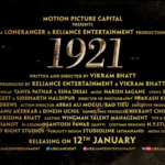 Zareen Khan starrer 1921 movie details