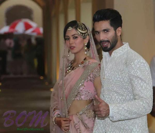 another photo of Shahid Kapoor with Mira Rajput