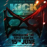 First teaser poster of Salman Khan upcoming movie Kick - First look will be released on 15 June 2014