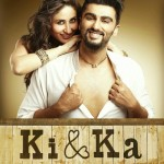 Official poster of Eros and R Balki's Ki & Ka