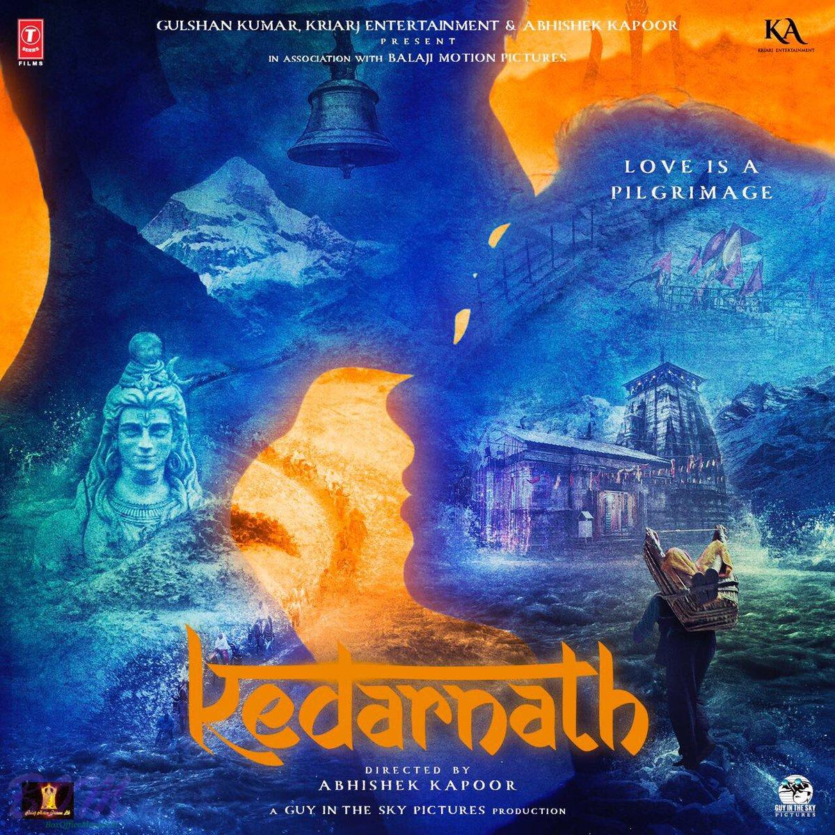 Kedarnath Movie First Look Poster Picture