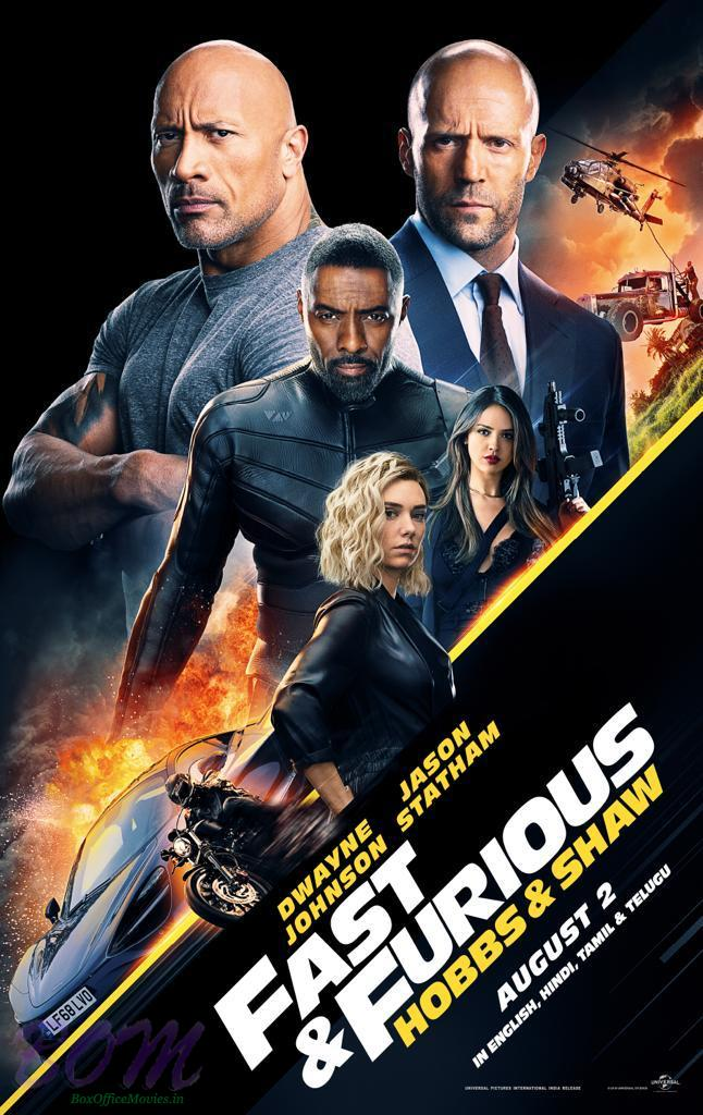 Poster Fast And Furious - Hobbs And Shaw 2019 picture